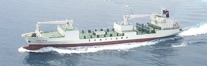 Seatrade Luzon Strait 626,000立方呎冷藏船